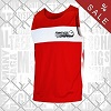 FIGHT-FIT - Boxing Shirt / Rot / Medium