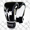 FIGHTERS - Boxhandschuhe / Giant / Schwarz / 16 oz