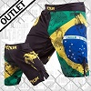 Venum - Fightshorts MMA Shorts / Brazilian Flag / Nero