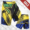 Venum - Fightshorts MMA Shorts / Wand's Conflict / Giallo-Blu-Verde